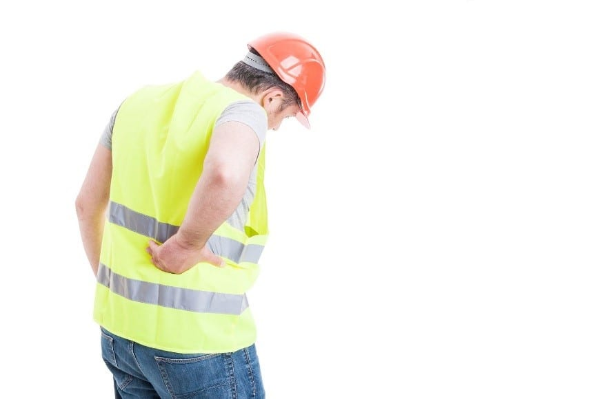 A Construction Worker Seeks Chiropractic for Back Injury Treatment